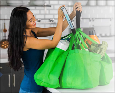 Grocery Gripps let you handle multiple shopping bags with ease