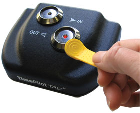 TimePilot Tap+ is the ultimate portable timeclock.