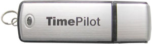 The TimePilot USB Drive is used with TimePilot Vetro and with TimePilot Extreme.